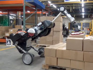 Roboter-Modell Handle 2.0 von Boston Dynamics. Bild: Screenshot aus Video von Boston Dynamics.