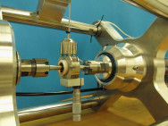 In-situ-Tribometer erfasst im Betrieb Verschleiß und Reibung. Bild: Fraunhofer IWM.