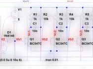 Einen Multivibrator in LTSpice anwerfen!