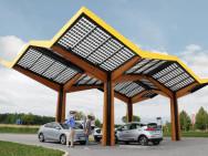 Première station de charge de 350 kW pour véhicules électriques en Allemagne
