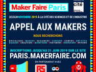 Maker Faire Paris 2019 : appel aux makers