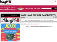 Où trouver le magazine MagPi en kiosque ?