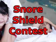 Vecht mee tegen snurken, doe mee met de Elektor Snore Shield Contest!