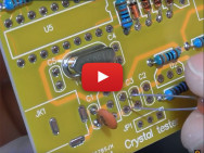Frequentiemeter en kristaltester voor 1Hz - 50MHz als kit