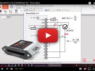 MonoDAQ-U-X: Meten met DEWESoft via een USB-poort
