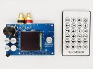 "NanoSound DAC 2 Pro voor RPi met 1.5"" Colour OLED"