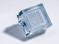"""""""Douchekop"""" voor chips gemaakt met 3D-druk. Afbeelding: Imec"""