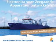 NIOZ zoekt elektronicus voor het ontwikkelen van zeegaande onderzoeksapparatuur