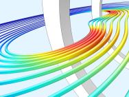 Hoe modelleer je geleiders in tijdsafhankelijke magnetische velden?