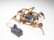 Crawling Quadruped Robot V2.0.