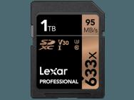 SD-kaartLexar Professional 633x SDHC/SDXC van 1TB. Afbeelding: Lexar