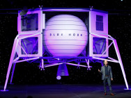 Amazon presenteert maanlander die zelf waterstof tankt