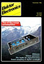 Elektor 11/1986 (EN)