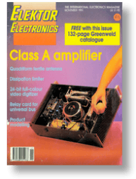 Magazine 11/1991