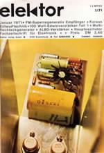Elektor 1971/01 (DE)