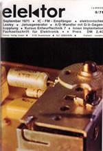 Elektor 1971/09 (DE)