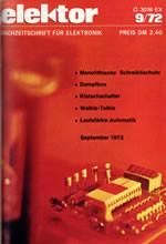 Elektor 1972/09 (DE)