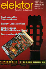 Elektor 11/1982 (DE)