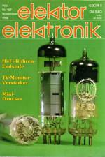 Elektor 11/1984 (DE)