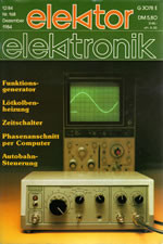 Elektor 12/1984 (DE)