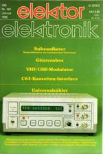 Elektor 01/1985 (DE)