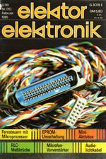 Elektor 02/1985 (DE)