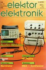 Elektor 11/1985 (DE)