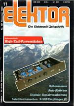 Elektor 11/1986 (DE)