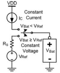 Schematic of a Li-ion voltage charger