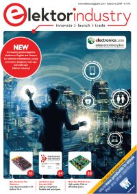 Elektor Industry 6/2018 electronica 2018 special