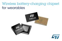 STMicroelectronics wireless battery-charging chipset for wearables thumb