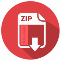 zip file icon png