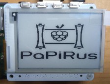 Review: PaPiRus ePaper Screen HAT for Raspberry Pi
