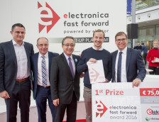 Nehmen Sie an electronica Fast Forward, the Startup Platform powered by Elektor teil