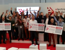Fast Forward Award 2018 auf der electronica: Preisverleihung!