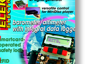 Barometer/altimeter part 1: