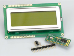 Two-wire LCD