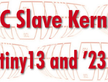 I2C Slave Kernel for ATtiny13 and `2313