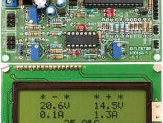 Dual Voltage/Current Display