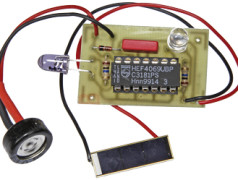 IR Tester with Solar Cell Power Supply