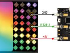 The LED Matrix Player