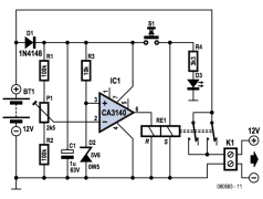 Lead Acid Battery Protector