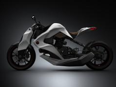 IZH Concept Hybrid Motorcycle: Cleaner, Safer