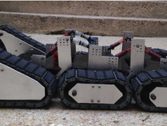Open Source All-terrain Robot Chassis