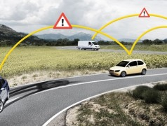 Intelligent cars alert each other to hazards