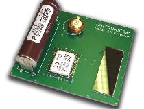Wireless solar-powered sensor monitors carbon monoxide levels