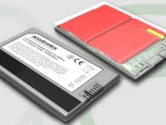 Smart Li-Ion Batteries the Size of a Credit Card