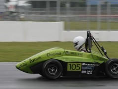 Hydrogen Race Car Takes On Fossil-fueled Rivals