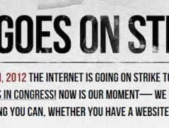 SOPA Shelved. Internet Strike Still On
