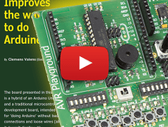 AVR Playground: Improve your way to do Arduino